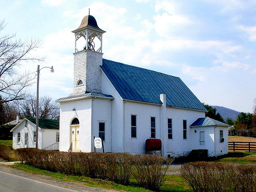 1ère Église Baptiste, Washington, Virginie; image: David Hoffman